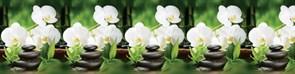 Фартук кухонный Белая орхидея, 3000х600х1.5мм, пластик АВС, термопечать