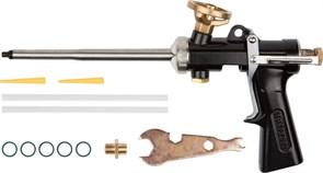 Пистолет KRAFTOOL для монтажной пены цельнометалический