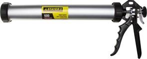 Пистолет для герметика STAYER PROFI, закрытый, с алюминиевым корпусом, 600мл