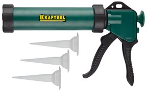 Пистолет-шприц для герметиков KRAFTOOL INDUSTRIAL, закрытый, 320мл
