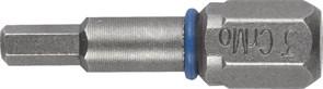 Биты ЗУБР торсионные кованные, обточенные, хромомолиб. сталь, С1/4, НЕХ4, 25мм, 2шт