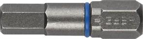 Биты ЗУБР торсионные кованные, обточенные, хромомолиб. сталь, С1/4, НЕХ5, 25мм, 2шт