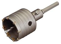 Коронка ЗУБР буров.кольц.с шестигр.хвост.80 мм