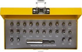 Набор STAYER Биты с адаптером, в металл боксе, 25 предметов