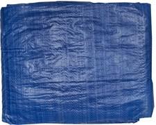 Тент-полотно STAYER MASTER универсальный, из тканого полимера плотностью 65г/м3, с люверсами, водонепроницаемый, 6х10м, синий