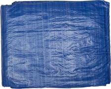 Тент-полотно STAYER MASTER универсальный, из тканого полимера плотностью 65г/м3, с люверсами, водонепроницаемый, 6х8м, синий