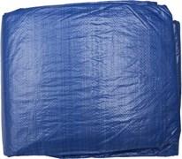 Тент-полотно STAYER MASTER универсальный, из тканого полимера плотностью 65г/м3, с люверсами, водонепроницаемый, 8х12м, синий