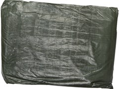 Тент-полотно STAYER PROFI, из тканого полимера высокой плотности 90г/м3, с люверсами, водонепроницаемый, 6х8м, синий/зеленый