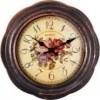 Часы настенные Engy ЕС-18 37*4,7см /круглые/плавный ход/пластик