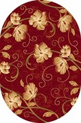 Ковёр коллекции KAMEA 1*2м OVAL-RED
