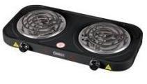 Плита электрическая двухконфорочная «ENERGY-904В» 2,0квт/220Вт тэн чёрная