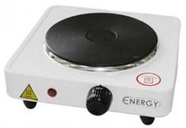 Плита электрическая одноконфорочная «ENERGY-901» 1,0квт/220Вт диск белая