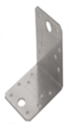 Крепежный уголок оцинкованный 105*105*90*2 мм