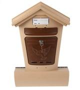 Ящик почтовый Элит беж. с коричневым