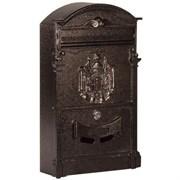 Ящик почтовый №4010 антик медь (4)