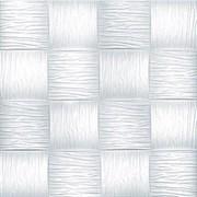 Плитка  потолочная инжекционная Люкс Формат, 50x50см, бесшовная, пенополистирол, Велла, белая, упаковка 8шт. (2м2)