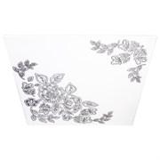 Плитка  потолочная экструзионная Лагом декор Формат, 50x50см, пенополистирол, Муза жемчуг, упаковка 8шт. (2м2)