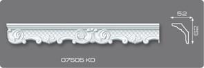 Плинтус потолочный  07505КD Германия +Натяжной потолок