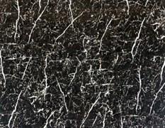 Плинтус потолочный барельефный 55*55мм 2,5м мрамор черный