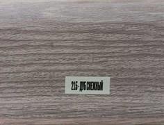 Плинтус напольный ПВХ Идеал Элит 215, 67x22x2500мм, с кабель-каналом, мягкий край, Дуб снежный