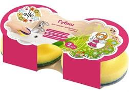 Губки для посуды тефлоновое покрытием Elfe