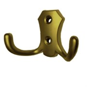 Крючок KL-56 AB (бронза) двухрожковый