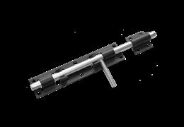 Засов дверной ЗД-300 (черный)