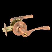 НМ ЗВ2-01-Э (Старая Медь) защелка м/к (ключ/фикс)