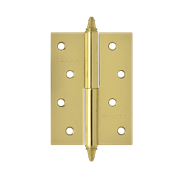 "НМ Петля сталь 610-4"" (Латунь) (Правая) размер: 100x75x2,5"