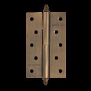 """НМ Петля сталь 610-5"""" (Медь) (Левая) размер: 125x75x2,5"""