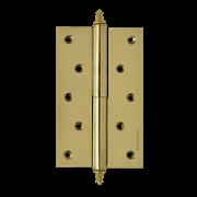 """НМ Петля сталь 610-5"""" (Латунь) (Левая) размер: 125x75x2,5"""