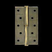 "НМ Петля сталь 750-5"" без колпачка (Бронзаовое покрытие) (Левая) размер: 125x75x2,5"