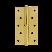 """НМ Петля сталь 750-5"""" без колпачка (Латунное покрытие) (Правая) размер: 125x75x2,5"""
