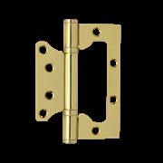 НМ Петля универсальная накладная 800-4 FHP без колпачка (Латунное покрытие) размер: 100x75x2.5