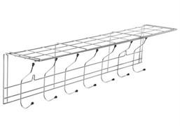 Вешалка 7-ми крючками оцинкованная с шариками (тнп-11.3)