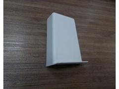 Накладка декор ABS L №1, белая