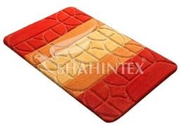Коврик PP MIX 4K 60*100см оранжевый-63