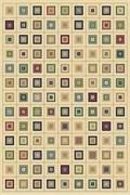 Ковёр коллекции BUHARA d148/1.0*2.0м STAN-CREAM