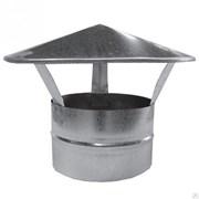Зонт оцинкованная сталь диаметр 200
