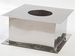 ППУ оцинкованная сталь + матовый диаметр 200