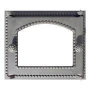 Дверка ДТ-6С  топочная СЕВЕР со стеклом крашеная