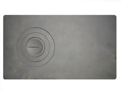 Плита 1-конфорка П1-2 ( 710*410 ) Новая (одна часть глухая, а другая конфорка)