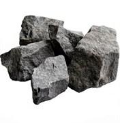 Камень для саун Габбро-диабаз (коробка - 20 кг)