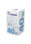 Лампа Космос Шарик Прозрачная 40W E27