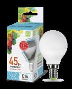 Лампа светодиодная ASD Шар Р45 Е14  5 W (400lm) 4000К пластик/алюм standart