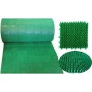 Коврик-дорожка 0,98*11,8м Травка пластмасса Зеленый