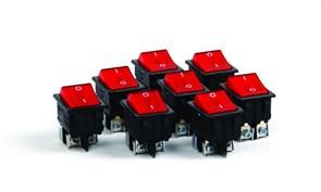 Выключатель-кнопка HOROZ для электроприборов 16А 250В