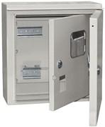 Корпус щита учета под 1-фазный счетчик ЩУ-1/1-1 IP54 ИЭК MKM51-N-04-54 (для установки на уличные столбы)