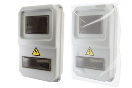 ЩУРН-П-1ф-8 (383х234х119) пластик IP54 TDM