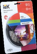 Лента светодиодная ECO LED LSR-3528RGB54-4.8-IP20-12V (уп.5м) Полноцветная ИЭК LSR1-3-054-20-1-05